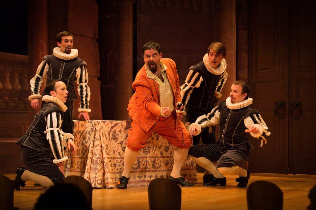 Jason McStoots in BEMF's 2013 production of Handel's Almira. Photo by Kathy Wittman.